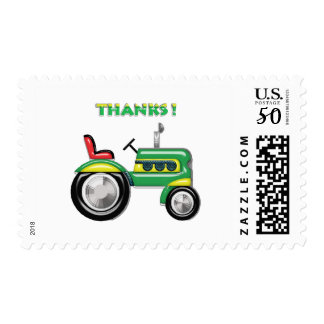 Terriffic Tractor Thanks Postage