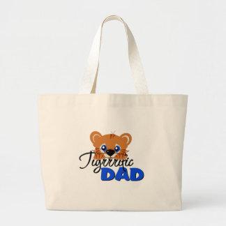Terrific Dad Cute Tiger Bags