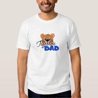 Terrific Dad Cute Tiger Tee Shirt