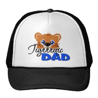 Terrific Dad Cute Tiger Trucker Hat