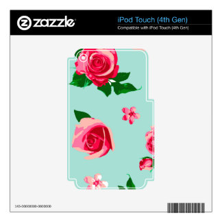 Terrific Fair-Minded Healthy Ready iPod Touch 4G Skin