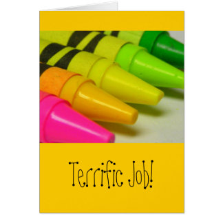 Terrific Job! Card