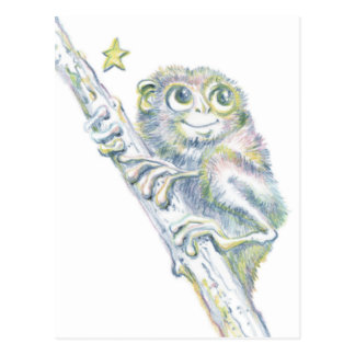 Terrific Tarsier Postcard