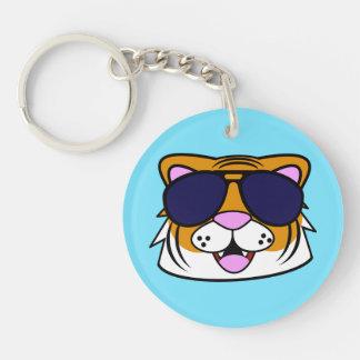 Terrific Tiger Keychain