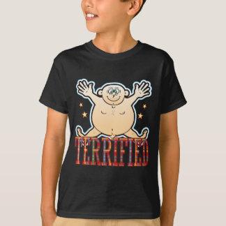 Terrified Fat Man T-Shirt