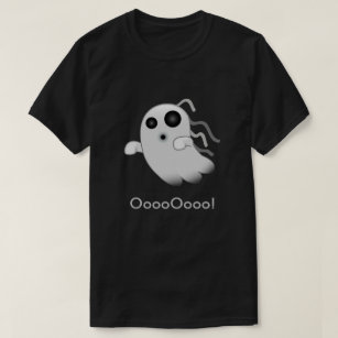 15a9c903 Terrifying Ghost Emoji T-Shirt