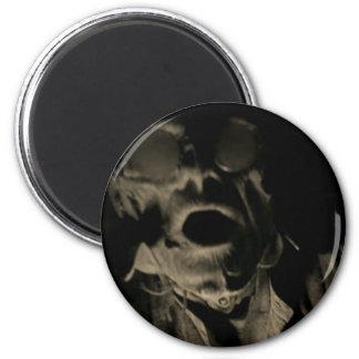 Terrifying Halloween Face Fridge Magnet
