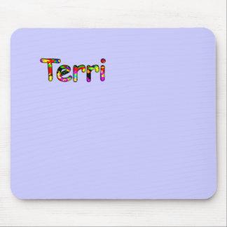 Terri's computer accessories purple mouse pad