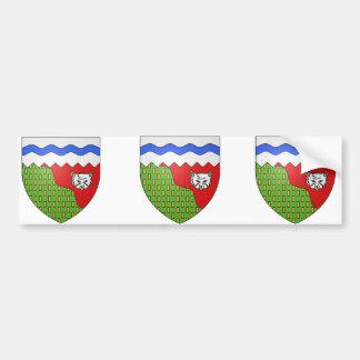 Territoires du Nord Ouest, Canada Bumper Sticker