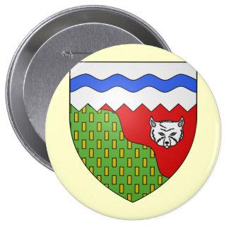 Territoires du Nord Ouest, Canada Pinback Button