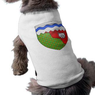 Territoires du Nord Ouest, Canada Pet Tshirt