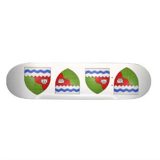 Territoires du Nord Ouest, Canada Skate Deck