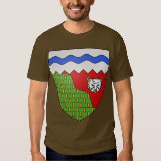 Territoires du Nord Ouest, Canada Tee Shirt