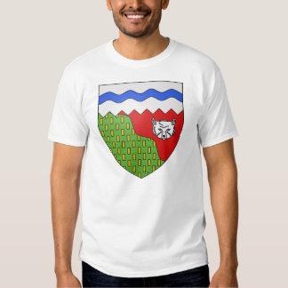 Territoires du Nord Ouest, Canada Tshirts