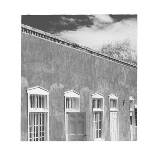 Territorial Style Architecture Santa Fe New Notepad Zazzle