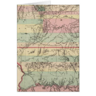 Territories of New Mexico and Utah Card