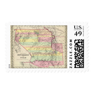 Territories Of New Mexico and Utah Postage