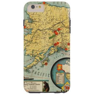 Territorio de Alaska Funda De iPhone 6 Plus Tough