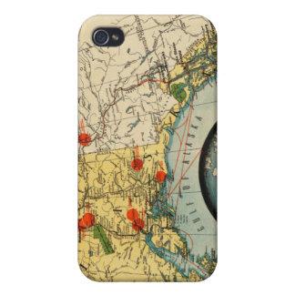 Territorio de Alaska iPhone 4 Cárcasa
