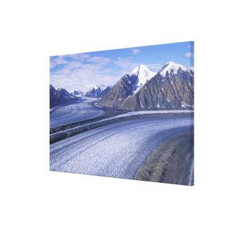 Territorio de Canadá, el Yukón, parque nacional de Impresion En Lona