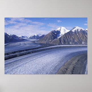 Territorio de Canadá, el Yukón, parque nacional de Póster
