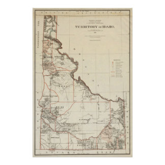 Territorio de Idaho Impresiones