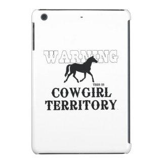 Territorio de la vaquera de la CAMISETA Funda De iPad Mini