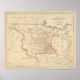 Territorio de Minnesota Póster