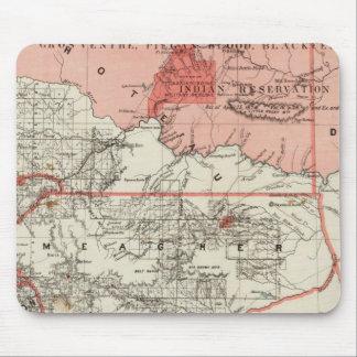 Territorio de Montana Tapete De Ratón