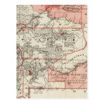 Territorio de Montana Tarjeta Postal