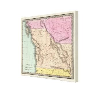 Territorio de Oregon Lona Estirada Galerías