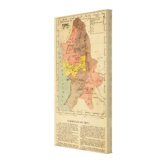 Territorio de Tepic, México Impresión En Lona