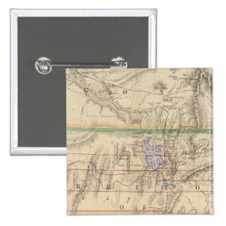 Territorio de Utah Pin Cuadrado