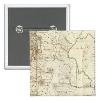 Territorio de Washington Pin Cuadrado