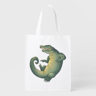 Territorio del cocodrilo bolsas para la compra