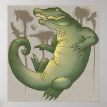 Territorio del cocodrilo poster