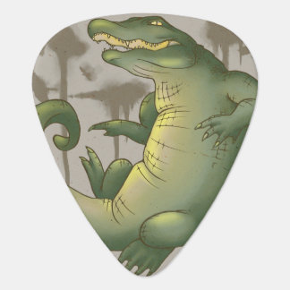 Territorio del cocodrilo púa de guitarra