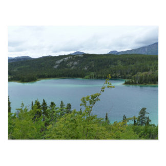 Territorio del lago esmeralda, el Yukón Postales
