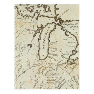 Territorio del noroeste tarjeta postal