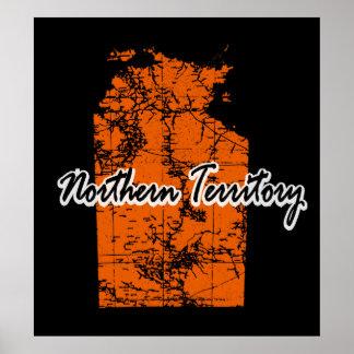 Territorio del Norte Póster