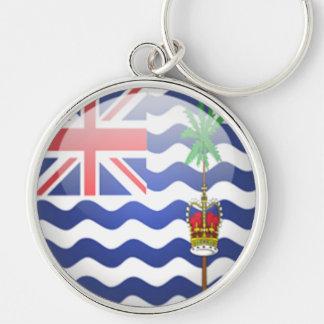 Territorio del Océano Índico británico - llave red Llavero