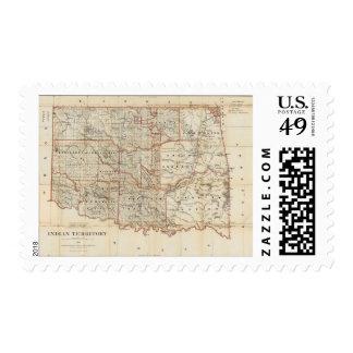 Territorio indio sello