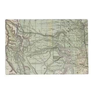 Territorio indio, Tejas septentrional y New México Tapete Individual