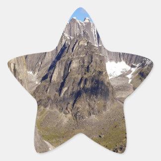 Territorios de Cirque Unclimbables Nahanni del Pegatina En Forma De Estrella