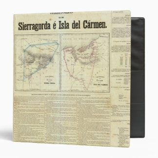 Territorios de Sierragorda e Isla del Carmen