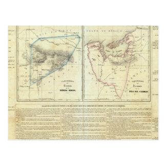 Territorios de Sierragorda e Isla del Carmen Postales