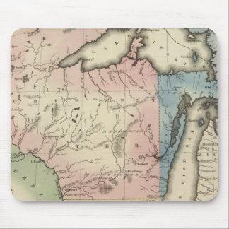 Territorios occidentales y de Michigan del norte Alfombrilla De Ratón