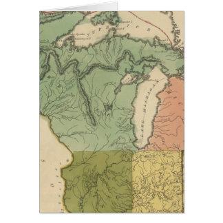 Territorios superiores el Estados Unidos Tarjetón