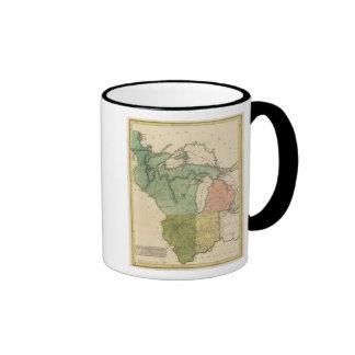 Territorios superiores el Estados Unidos Taza De Café