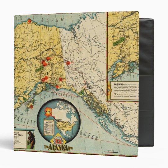 Territory of Alaska 3 Ring Binder